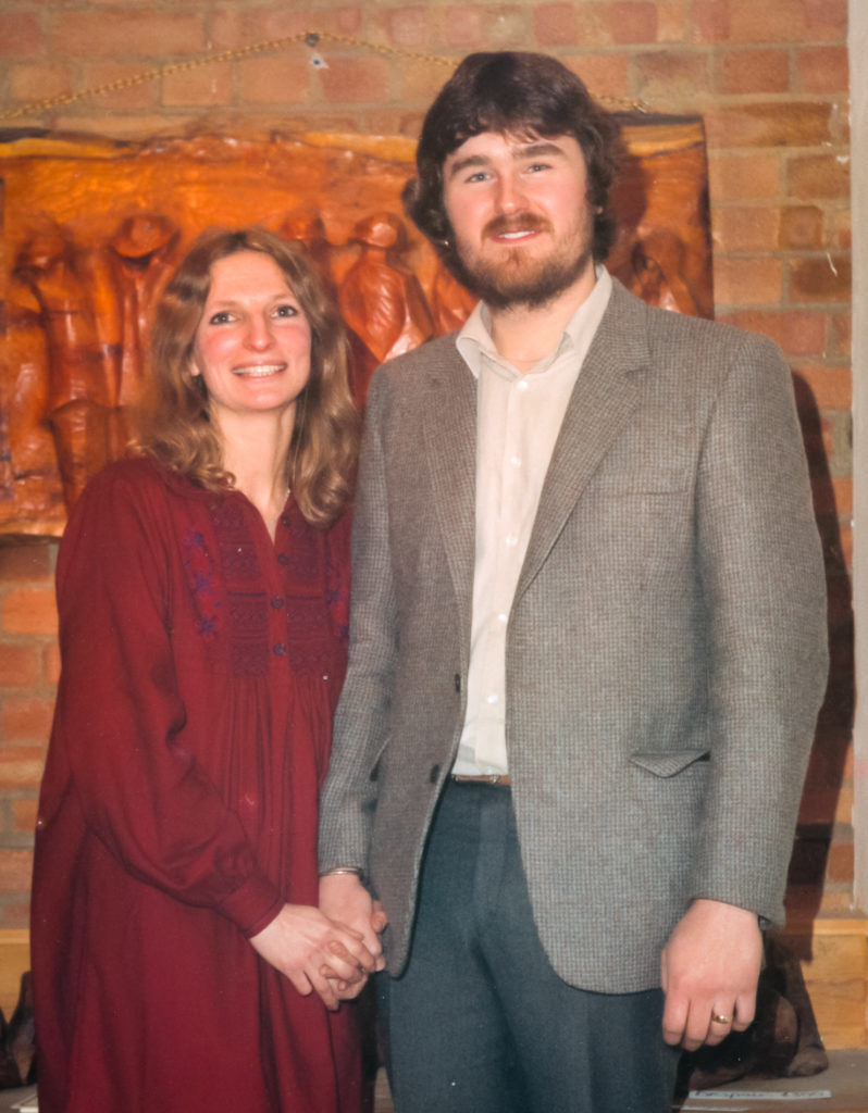 Steven and Ellie - Wedding December 11, 1981