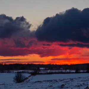 Medford, Nova Scotia sunset – Ellie Kennard 2019