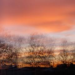 Martlesham sunset multiple exposure - Ellie Kennard 2016