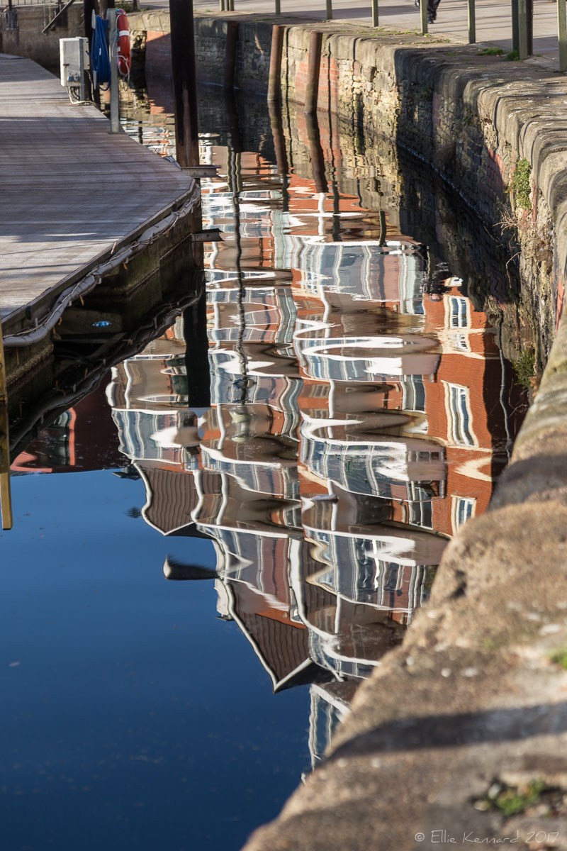 Ipswich in reflection - Ellie Kennard 2016