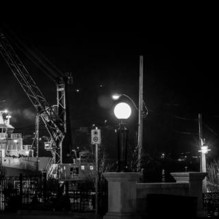 Harbour at Night - Look UP! - Ellie Kennard 2013