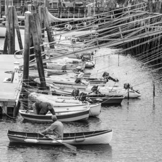 Rockport Harbour, Maine Week 20/26: Leading Lines - Ellie Kennard 2015
