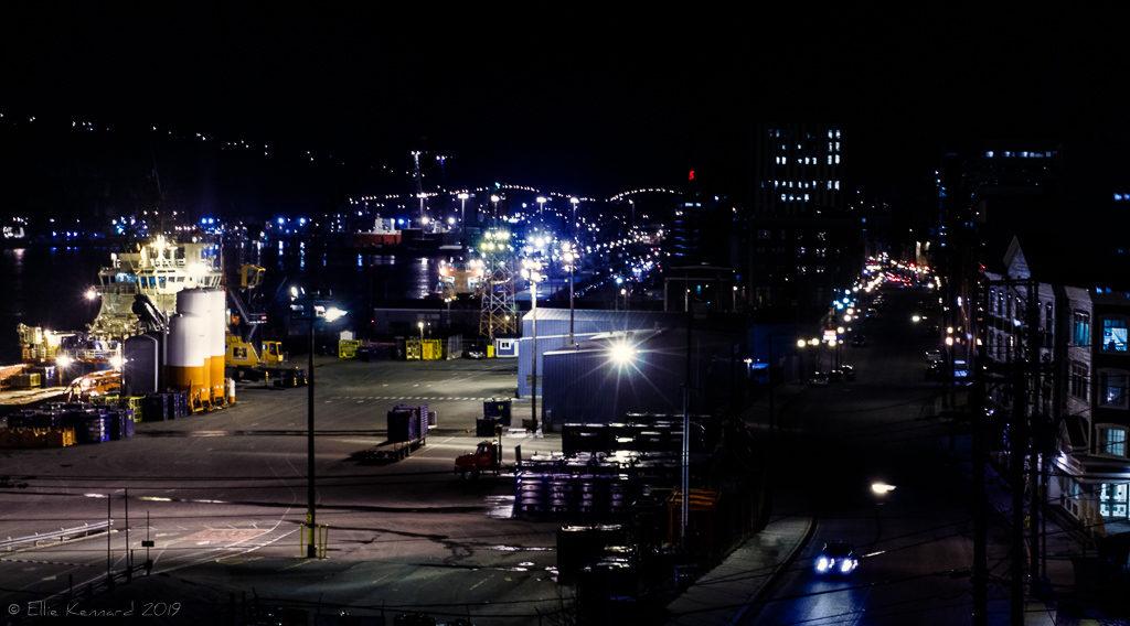 St. John's Water St. at night - Ellie Kennard 2013